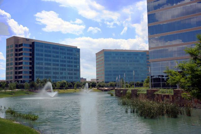 Granite Park in downtown Plano, Texas. The Texas city ranked No. 3 on Money magazine's best places to live in the U.S. (Danny20111993/Wikimedia Commons)