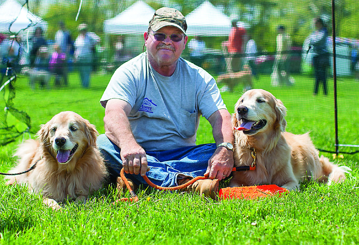 An annual event called Dog Day Afternoon is highly popular among dogs and their two-legged friends, and Columbia DogPark gives them a place to play and relax the rest of the year. (Courtesy Columbia Association)