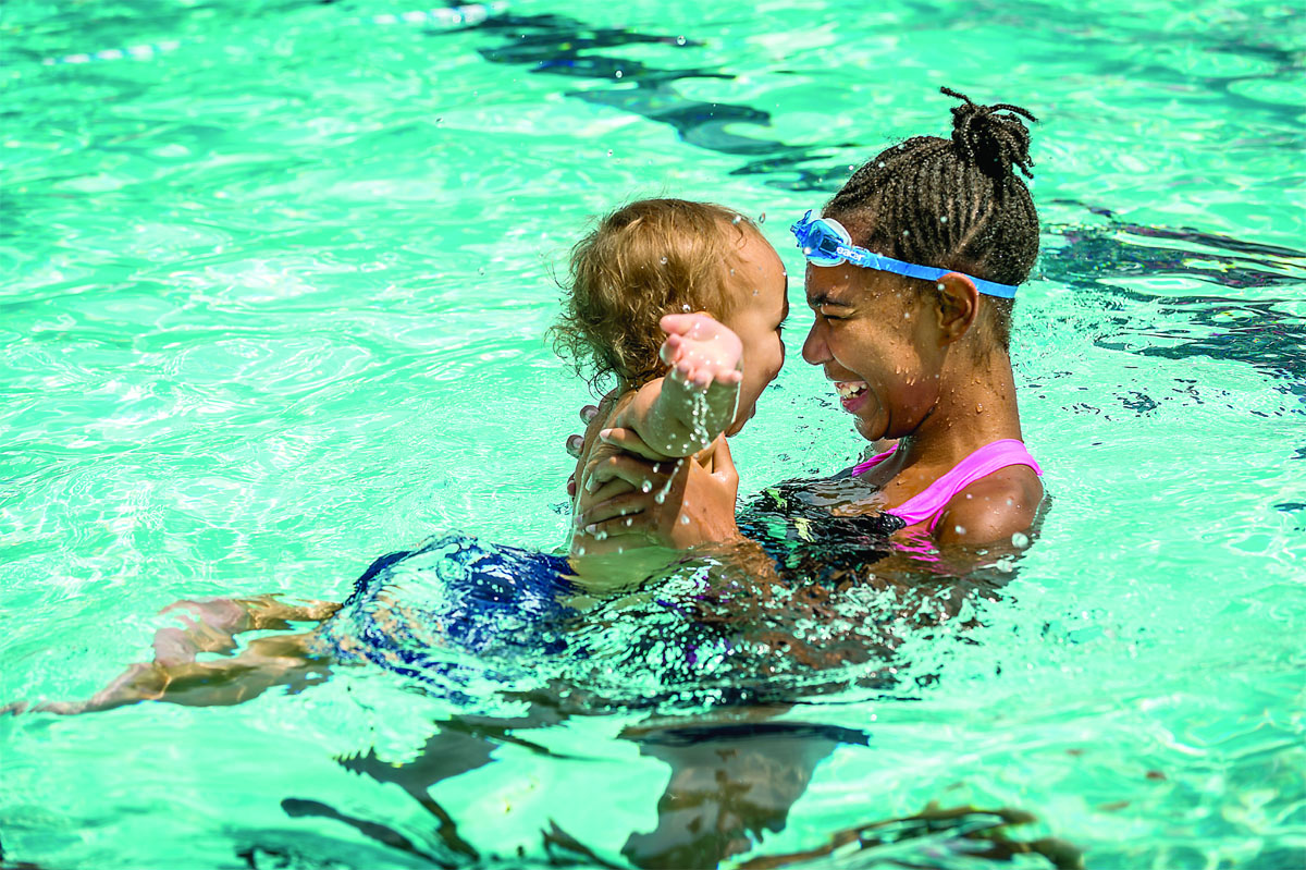 Columbia, Maryland, has 23 outdoor pools operated by Columbia Association and a neighborhood swim league in which generations of kids have participated. (Courtesy Columbia Association)