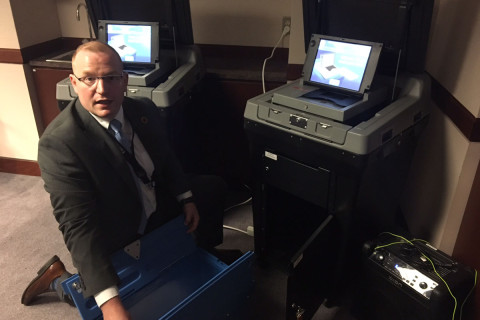 Fairfax Co. rolls out 'completely secure' new voting machines