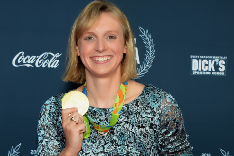 Ledecky, other area Olympians get red-carpet homecoming