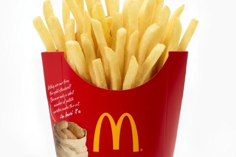 McDonald's tests pumpkin spice fries in Japan