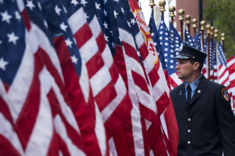 Nation commemorates 15th anniversary of 9/11 attacks (Photos)