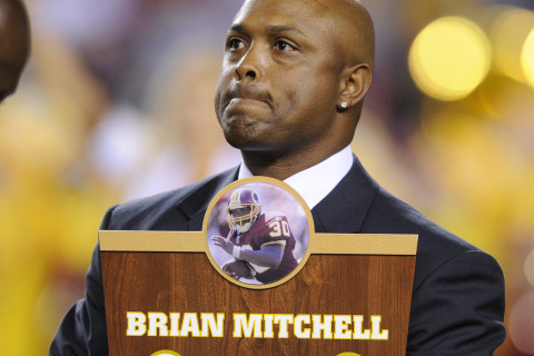 Former Redskin Brian Mitchell nominated for Pro Football Hall of Fame