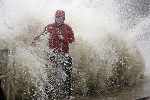 Photos: From tropical storm to hurricane and back, Hermine hits East Coast