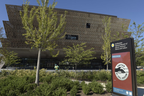 Photos: Smithsonian's African American history museum celebrates its debut