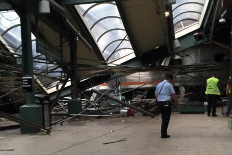 Photos: Hoboken train crash