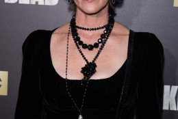 "Melissa McBride attends AMC's ""The Walking Dead"" season six premiere fan event at Madison Square Garden on Friday, Oct. 9, 2015, in New York. (Photo by Charles Sykes/Invision/AP)"
