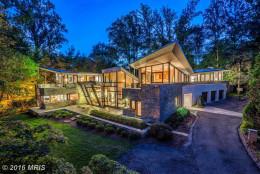 $6,500,000  7118 Glenbrook Road, Bethesda, Maryland  This contemporary home built in 2009 sold for $6.5 million last month. The Bethesda home has four bathrooms and eight bedrooms. (MRIS)