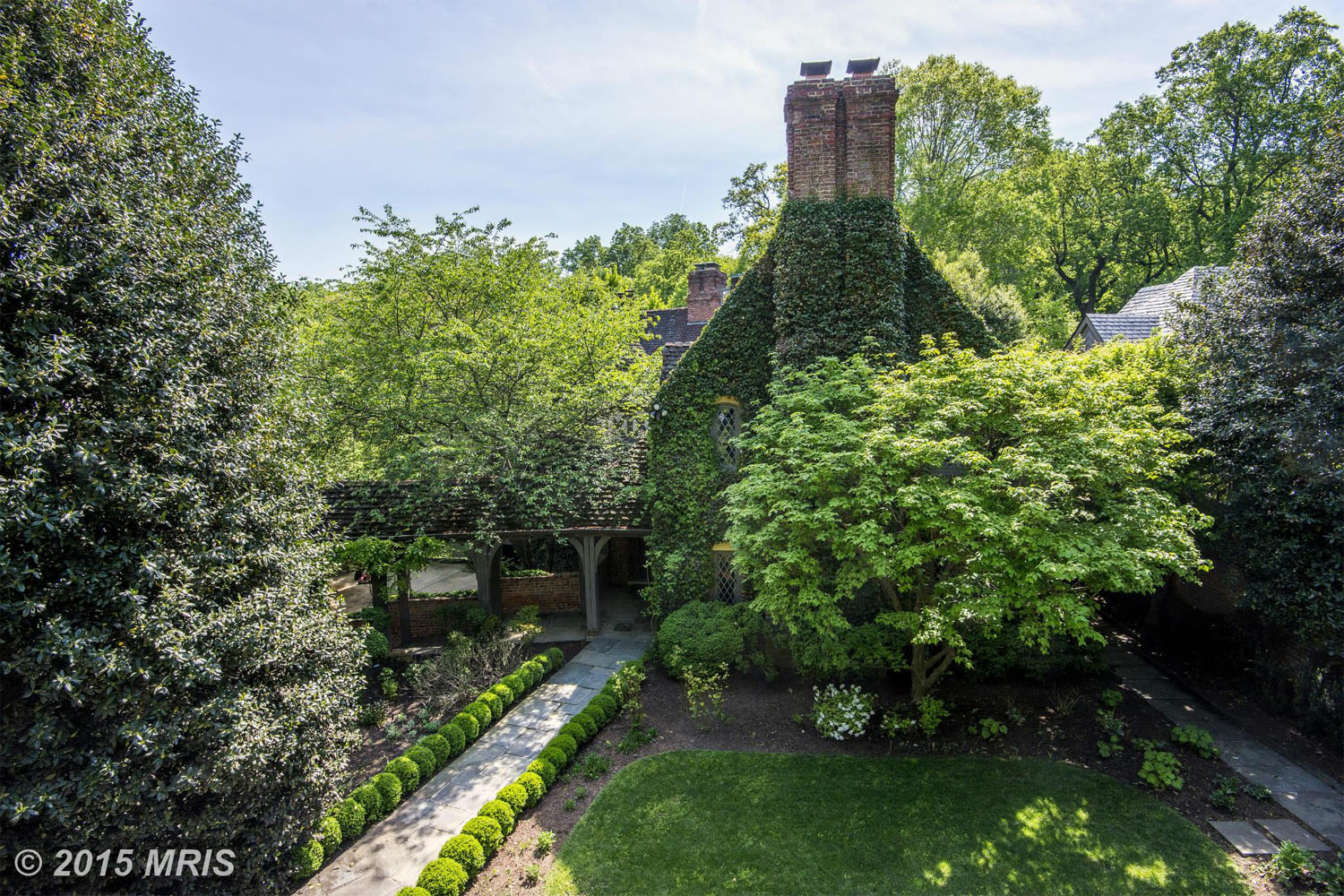 $5,250,000  2728 32nd St. NW Washington, D.C.   The Tudor-style home, originally built in 1933, went for $5.25 million last month. The Massachusetts Avenue Heights home boasts five bedrooms and five bathrooms.  (MRIS)