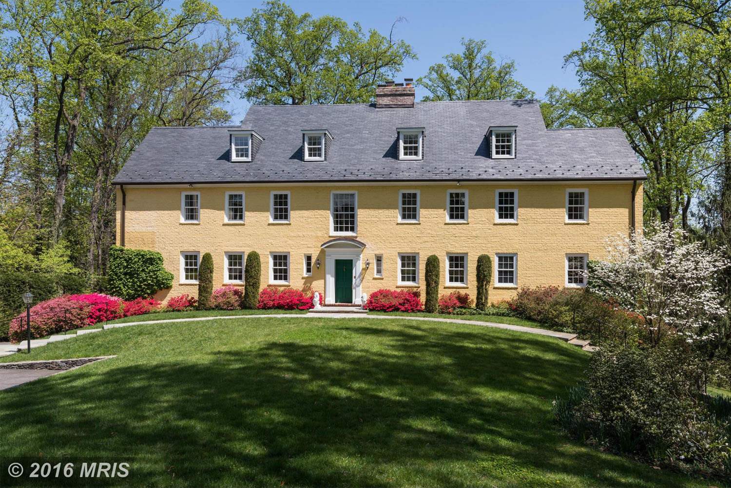 $4,700,000 2501 Foxhall Road NW Washington, D.C.  This Colonial-style home built in 1934 went for $4.7 million in August. The home, located in the Berkley neighborhood of Northwest D.C., has five bedrooms and five bathrooms. (MRIS)