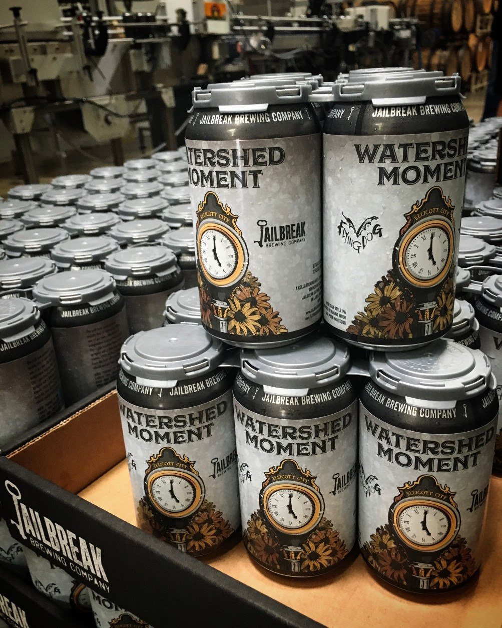 Flying Dog Brewery and Jailbreak Brewing Co. are jointly producing a beer to raise flood relief funds for Ellicott City. (Courtesy Flying Dog Brewery)