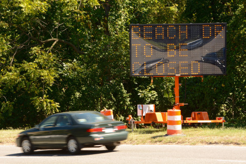 Beach Drive closure to create delays across upper DC