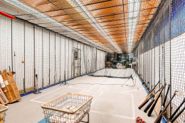 Cal Ripken Jr.'s 25-acre estates features a batting cage, excercise room, trainer's room, locker room, indoor basketball court and a baseball diamond. (Courtesy Monument Sotheby's International Realty)