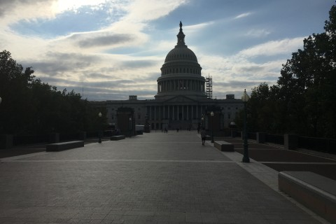 U.S. Capitol scaffolding down but work continues