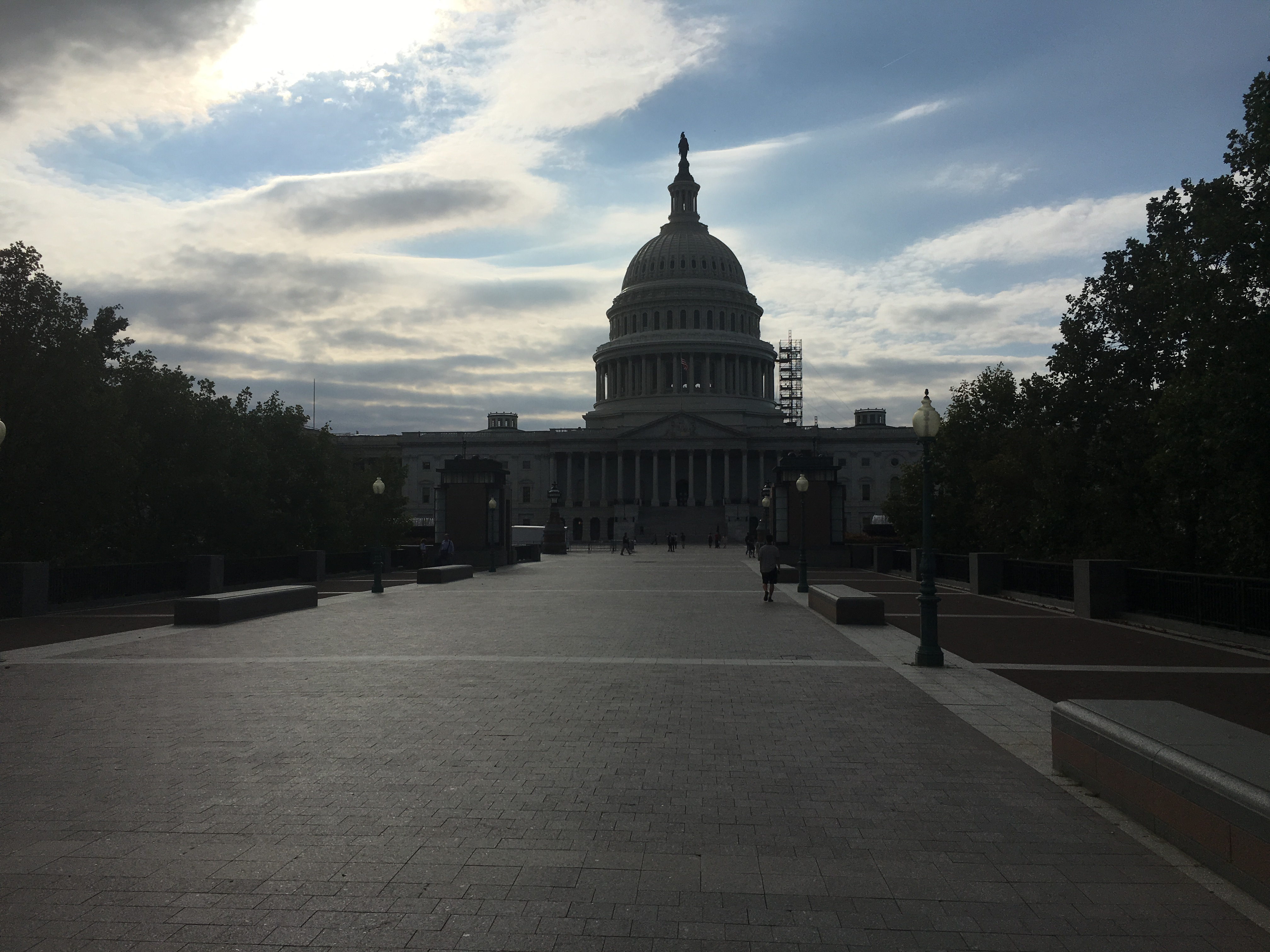 Capitol Building Scaffolding : U s capitol scaffolding down but work continues wtop