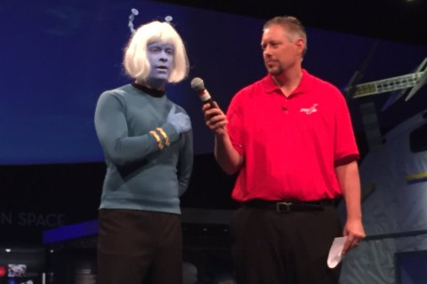 Trekkies go bold in 50th anniversary costume contest
