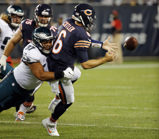 Bears anticipating 'lengthy absence' for Jay Cutler (thumb)