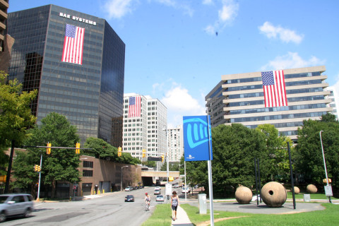 Flags Across Rosslyn marks 15th anniversary of 9/11