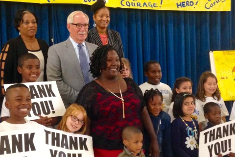 Md. bus driver honored for her bravery on burning bus