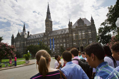 Marriage fuels debate, accusations on Georgetown campus