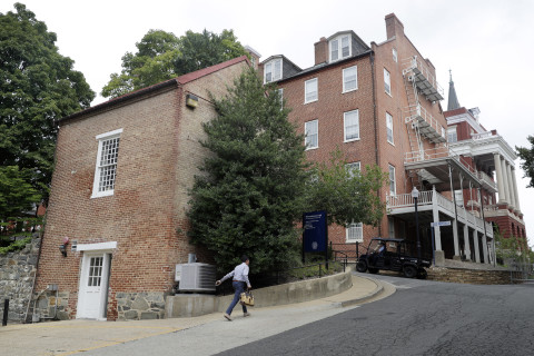 Georgetown University confronts past of slavery, rededicates 2 buildings