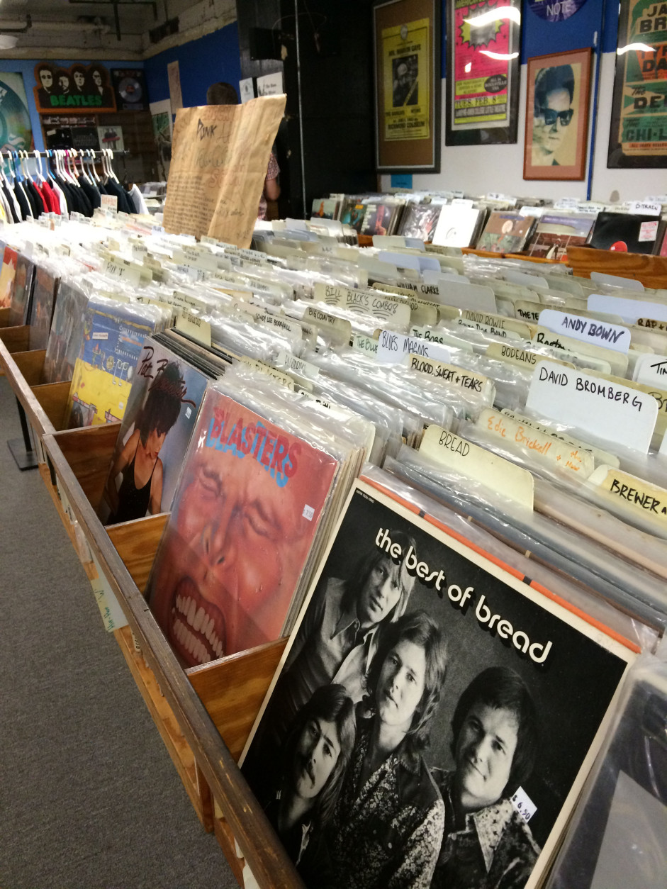 One of the longest-lasting independent record stores in the D.C. area has reopened for business after hitting some snags in its recent move to downtown Silver Spring. (WTOP/Dick Uliano)