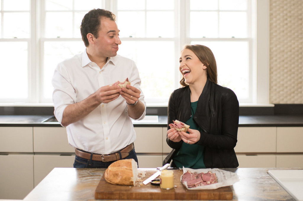 Jonathan Lerner and Ilyse Fishman Lerner are the co-founders of On Rye. (Courtesy On Rye)