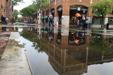 Potomac floods Old Town Alexandria; more on the way (Photos)
