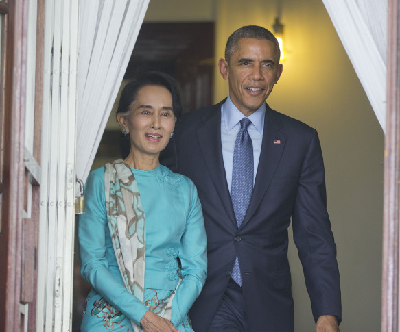 USA to lift trade sanctions against Myanmar