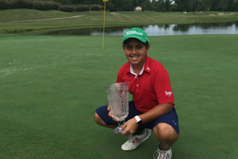10-year-old Va. golf prodigy shines on international stage