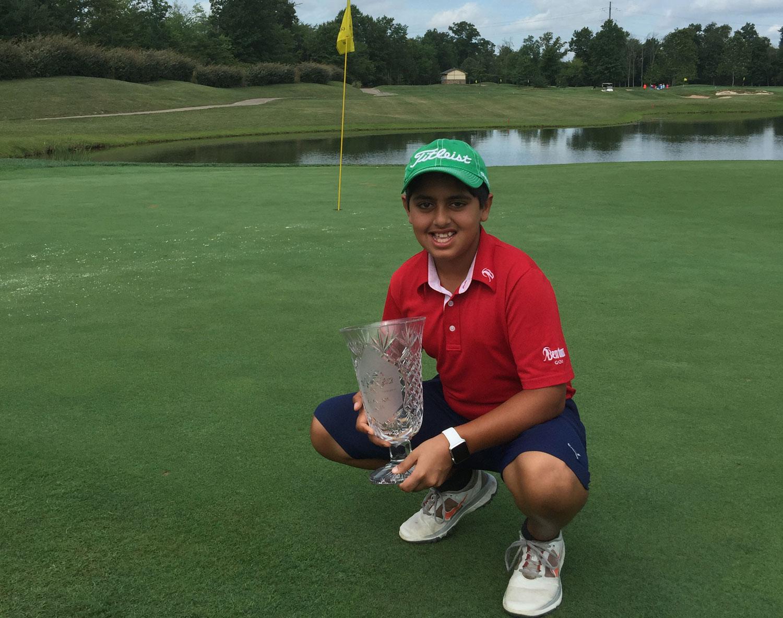 10yearold va golf prodigy shines on international stage