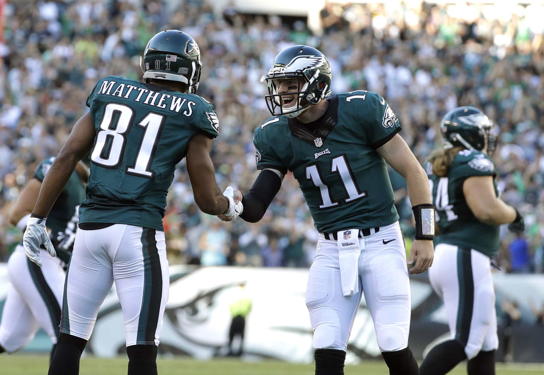 Image result for wentz and prescott