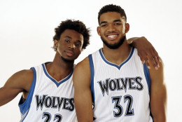 Andrew Wiggins, Karl-Anthony Towns
