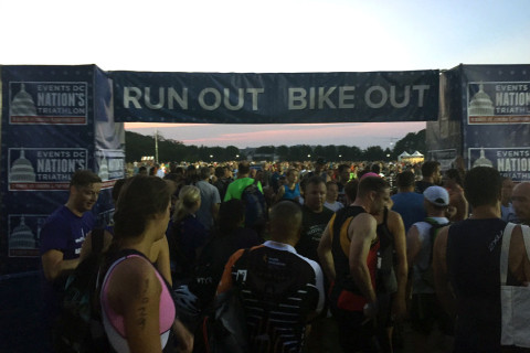 Nation's Triathlon athletes honor 9/11 victims