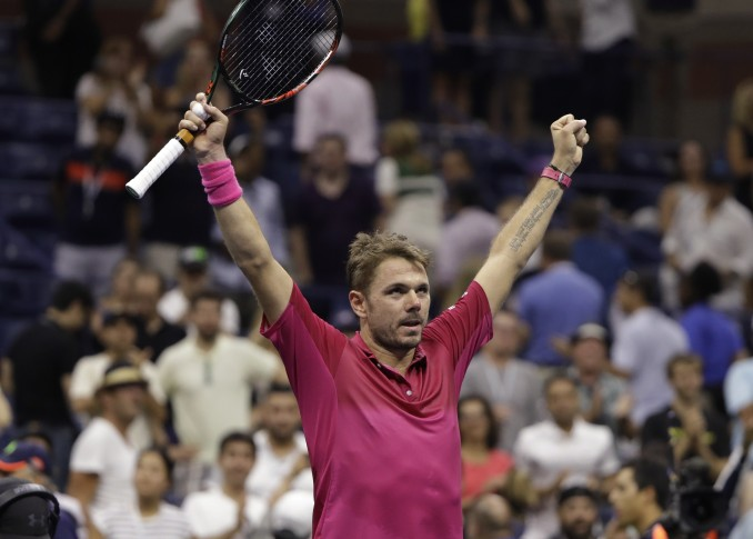 Stan Wawrinka battles back to reach US Open final