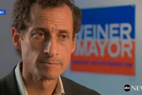 Anthony Weiner under federal investigation for alleged sexting with a minor