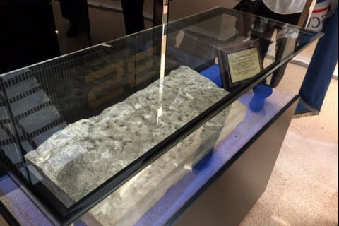 Dulles TSA staff unveil 9/11 artifact with solemn ceremony