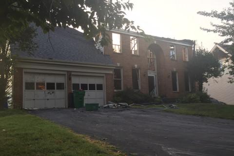 Lightning destroys Gaithersburg home, $700K in damage