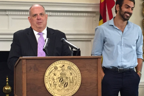 Reality star from Frederick honored by Md. governor