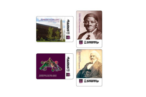 Metro unveils SmarTrip cards honoring new Smithsonian museum