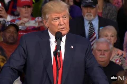 Trump pledges to continue attacks on Clintons 'if they release more tapes'