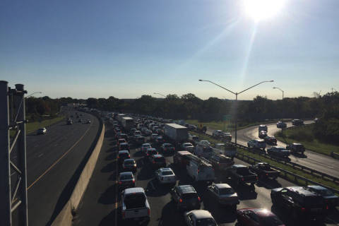 Troubling trend: Md. troopers, vehicles struck on Beltway