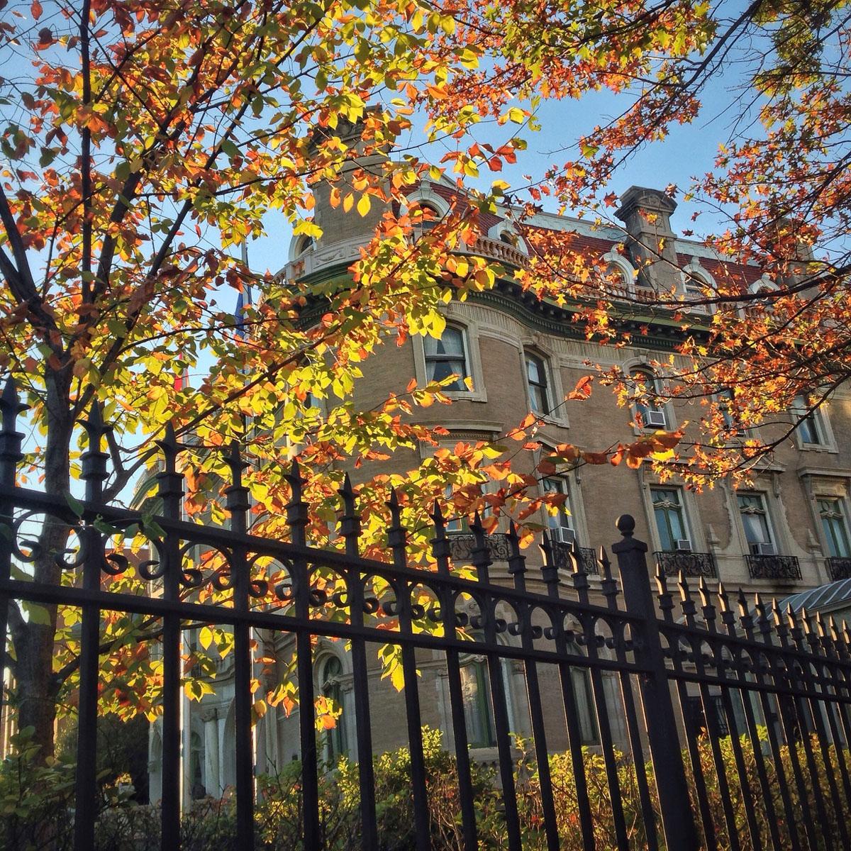 The Walsh Mansion in Dupont Circle