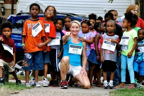 100th marathon for Alexandria native as she works to renovate playgrounds