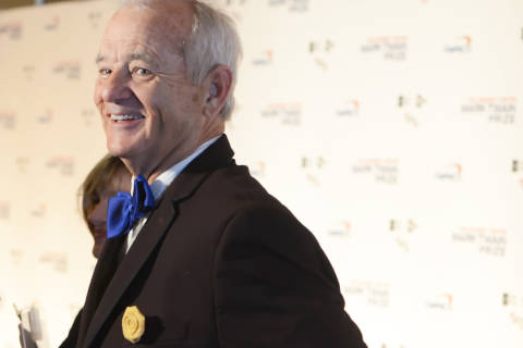 Bill Murray receives Mark Twain Prize at Kennedy Center (Videos)