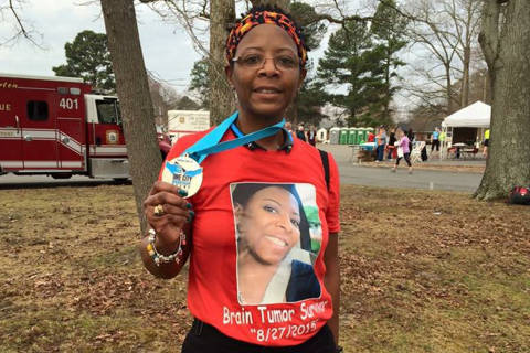 Va. veteran trains for Marine Corps Marathon while battling life-threatening brain tumor