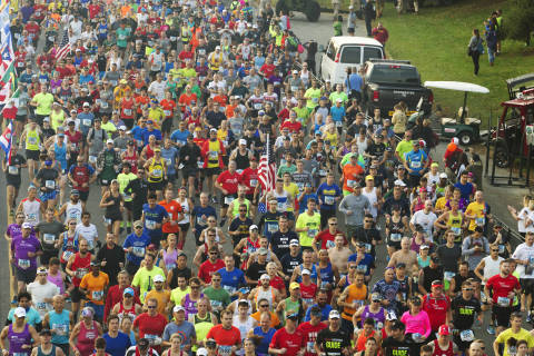 Calling all Marine Corps Marathon runners: Tell WTOP your story