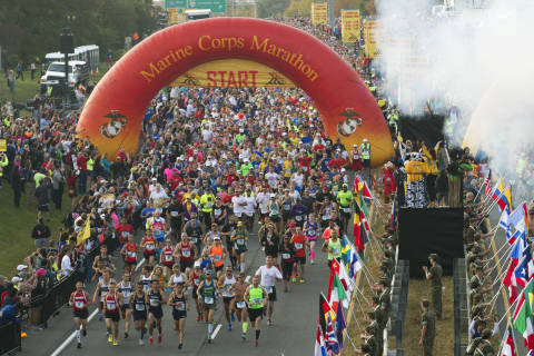Marine Corps Marathon spectators: Best places to watch runners and what to leave at home
