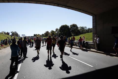 Marine Corps Marathon brings road closures to Arlington, DC